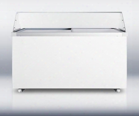Scf1710pdc 17 Cu. Ft. Capacity Freezer With Sneezeguard Casters Factory Installed Lock Manual Defrost Fan-cooled Compressor Aluminum Interior Digital
