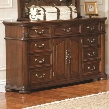 201823 DuBarry Nine-Drawer Two-Door Dresser with Traditional Bun