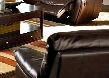 600283 Clifford Brown Leather Reclining Chair by Coaster