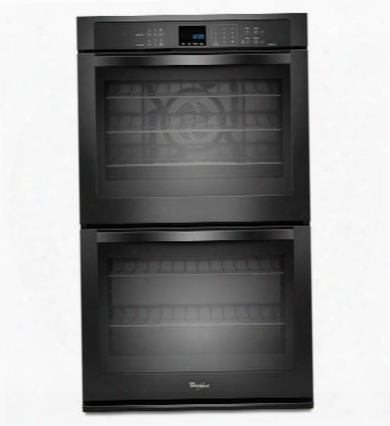 "Wod93ec0ab 30"" Double Electric Wall Oven With 5.0 Cu. Ft. Per Oven Self-clean True Convection Cooking Hidden Bake Element Steam Clean Option Digital Clock"