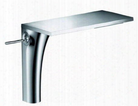 18020001 Axor Massaud Bathroom Faucet With High Waterfall Spout:
