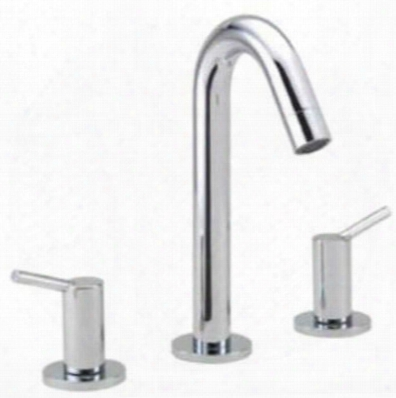 32310821 Talis S Collection Double Handle Widespread Bathroom Faucet: Brushed