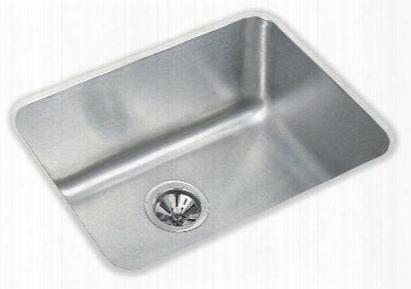 "Elu2115dbg Gourmet Lustertone Stainless Steel 22-1/2"" X 17-1/4"" Single Basin Undermount Kitchen"