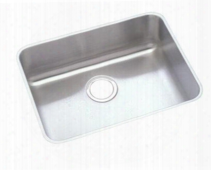 "Elu2h115dbg Gourmet Lustertone Stainless Steel 23-1/2"" X 18-1/4"" Single Basin Undermount Kitchen"