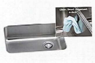 Eluh231710rek Gourmet E-dock 25 X 18-3/4 Undermount Single Bowl 18 Gauge Stainless Steel Kitchen Sink With Right Drain