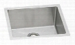 """PLAFRU191610 Pursuit Stainless Steel 21-1/2"""" x 18-1/2' Undermount Single Basin Utility Sink with 10"""" Depth: Stainless"""