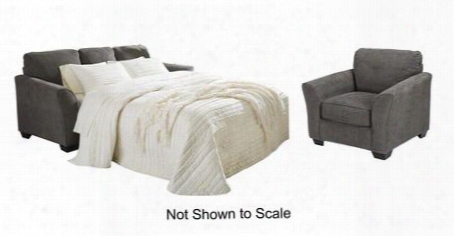 Brise Collection 84102qscc 2-piece Living Room Set With Quee N Sofa Chasie Sleeper And Chair In