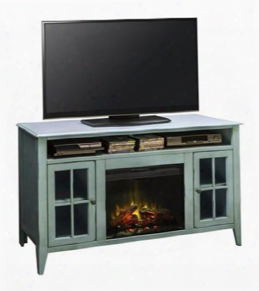 "Ca5312.rbl Calistoga 60"" Fireplace Console In Rustic"