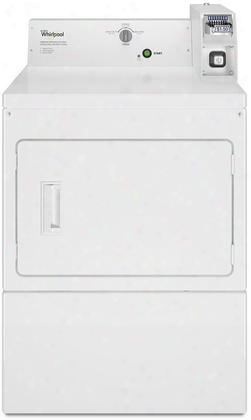 Cem2745fq Commercial 7.5 Cu. Ft. Coin-operated Electric Commercial Dryer In