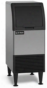 Ciu070fa Self-contained Cube Ice Machine With 68 Lbs. Production Of Ice Per Day Integrated Storage Ada Floor-mount Kits Filter Free Air Cuber Evaporator