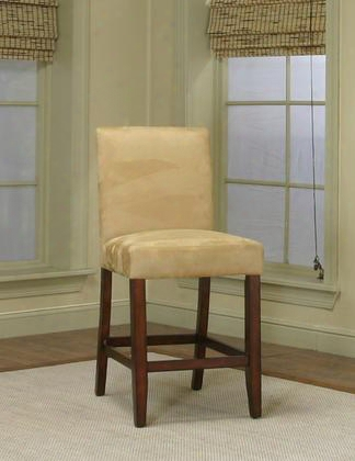 """Cr45537262 24"""" Parkwood Parson Barstool In Wheat (set Of"""
