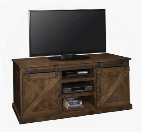 "Fh1410.awy Farmhouse 66"" Tv Console Awy In Aged"