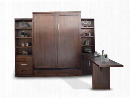 Jga103f24pc Add-a-room Storage Murphy Wallbed With Two Cabinets And