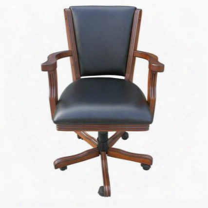 "Ng2366ch 19"" Walnut Poker Chair (set Of"