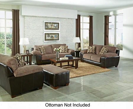 Pinson Collection 43983pcstlarmkit1cha 3-piece Living Room Sets With Stationary Sofa Loveseat And Living Room Chair In Chateau And