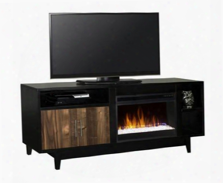 """Sg5200.blk Sterling 68"""" Fireplace Console In"""