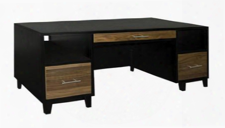 Sg6270.blk Sterling Executive Desk In