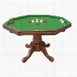 "NG2366T 48"" Walnut Poker Table in Walnut"