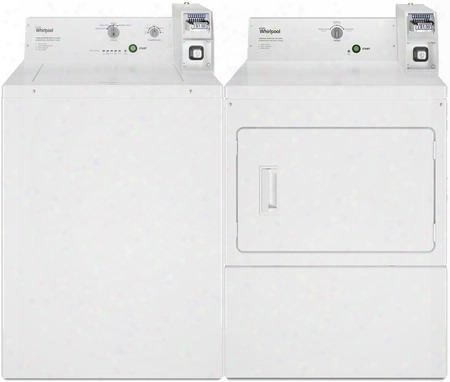 Whit Etop Load Commercial Laundry Pair With Cae2745fq Washer And Cgm2745fq Gas