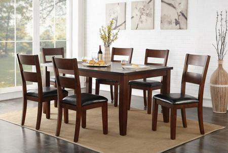 "Zrpt-8060 Rockport 72"" Dining Room Table In"