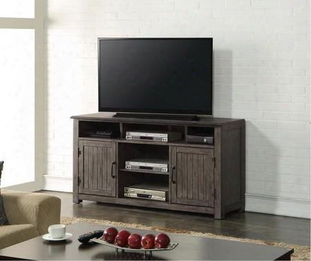 "Zstr-1000 Storehouse 60"" Tv Console N Smoked"