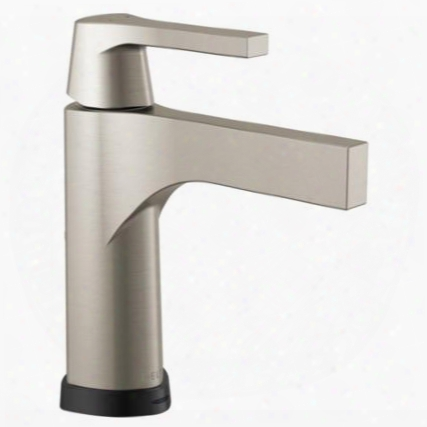 Zura 574t-ss-dst Delta Zura: Single Handle Centerset Lavatory Faucet With Touch2o.xt Technology In