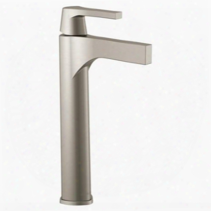 Zura 774-ss-dst Delta Zura: Single Handle Vessel Lavatory Faucet In