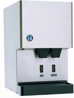"Dcm-270bah-os 17"" Opti-serve Series Sanitary Ice Machine And Dispenser With 288 Lbs. Daily Ice Production Advanced Cleancycle24 Stainless Steel Internal"