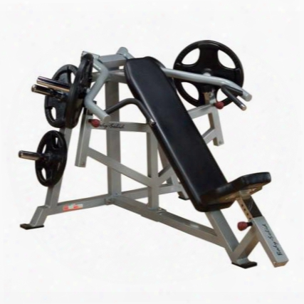 Lvip Proclub Line Leverage Incline Bench Press With 11-gauge Steel Construction And Gas-assisted