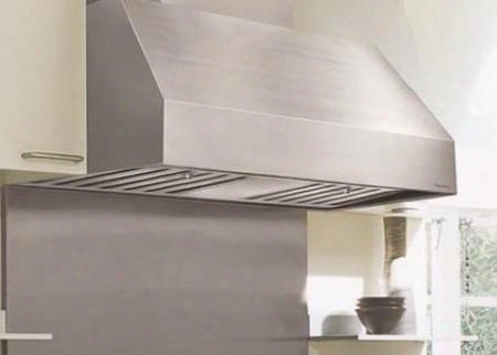 "M Line Series Prh18-m66 Ss 66"" Canopy Pro Style Wall Mounted Range Hood With 1035 Cfm 2 Level Halogen Lighting Industrial Grade Ss Baffle Filters In"