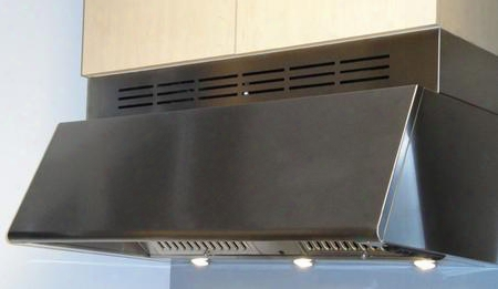 "Professional Collection Magnum Magn36ss 36"" Canopy Pro Style Under Cabinet Hood With 600 Cfm Pro Internal Blower Convertible Ventilation 3 Impetuosity Control In"