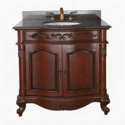 Provence-v36-ac Avanity Provence 36 In. Vanity Only In Antique Cherry