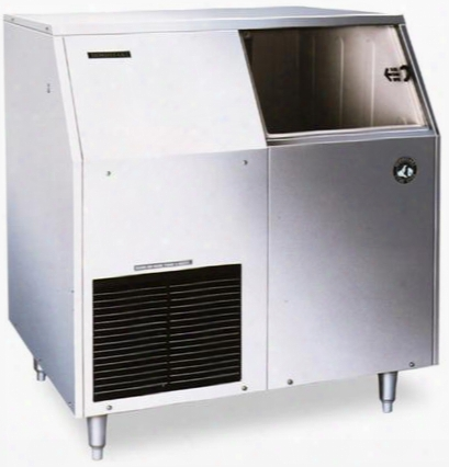 "F-300baf 36"" Energy Star Rated Undercounter Ice Maker With 303 Lbs. Daily Coat  Production Flaked Ice 100 Lbs. Built-in Storage Removable Air Filter And"
