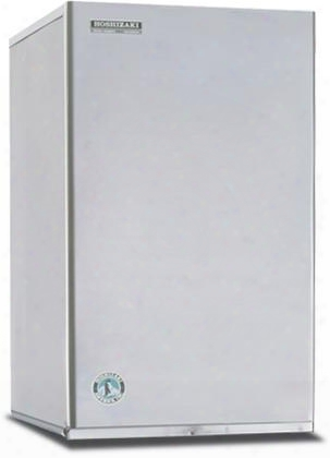 "Km-650mwh 22"" Slim-line Modular Ice Maker With 669 Lbs. Daily Ice Production Water Condenser H-guard Plus Antimicrobial Agent Protection Crescent Ice Cubes"