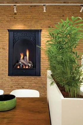 Pl20nv 20 In. Parlor Vent Free Fireplace System With Logs Natural