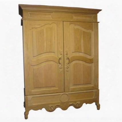 Vino-700prov-cm Provence Oak Wine Cooler Cabinet Custom