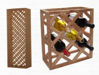 Vt-indvdiamond-rw Individual Diamond Wine Racks