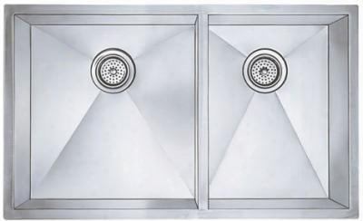 "512750 33"" Undermount 1 & 3/4  Bowl Stainless Steel"