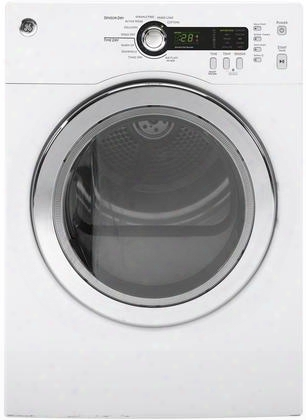 "Dcvh480ekww 24"" Electric Dryer With 4.0 Cu. Ft. Capacity Multiple Drying Cycles Stainless Steel Interior Drum Sensor Dry 5 Heat Options And Interior Light"