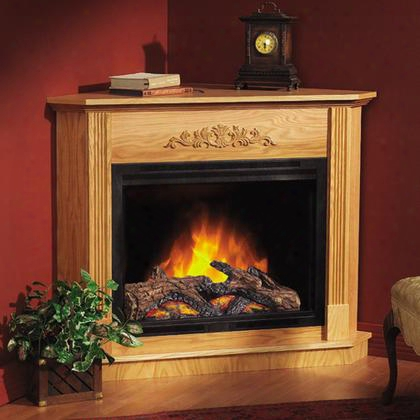 Efm31lo 5 000 Btu Casaloma Traditional Freestanding Flat Light Oak Electric