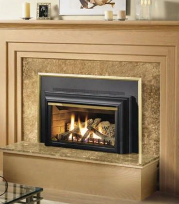 "Gdizc-n 36"" Basic Direct Vent Fireplace Insert Natural Gas Remote Ready Glass"