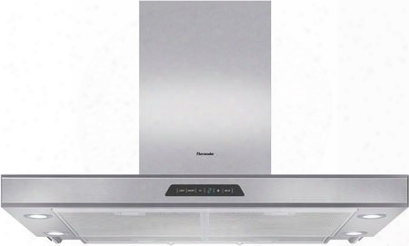 "Hddw36fs 36"" Masterpiece Series Chimney Wall Drawer Hood With Unique Sliding Stainless Canopy 600 Cfm Internal Blower Built-in Clean Filter Reminder Light 3"