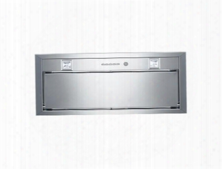 "Kin30 Per X Professional Series 30"" Range Hood Blower Insert Electronic Controls 6"" Round Vertical Ducting 600 Cfm Internal Blower: Stainless"