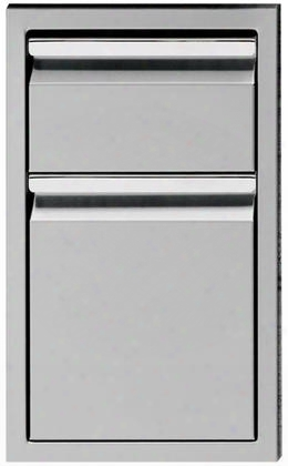 """Tesd132-b 13"""" Double Drawer Storage With Super Slides 100 Lbs. Capacity Welded Corners And Heavy Duty In Stainless"""