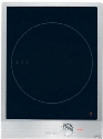 "CS1221i 15"" Induction Cooktop with 1 Zone 12 Power Settings Keep Warm Function Front Controls and Stainless Steel Control Knob in Black Ceran Glass with"