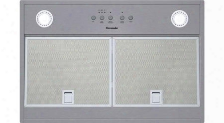 "Vci230ds 30"" Ul Certified Professional Series Custom Insert With Dishwasher Safe Aluminum Mesh Filters Stainless Steel Button Controls Clean Filter Reminder"