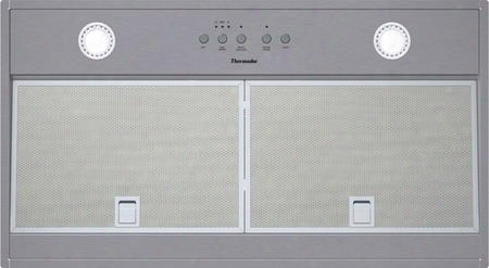 "Vci236ds 36"" Ul Listed Masterpiece Series Custom Insert With Three Fan Speeds Built-in Clean Filter Reminder Light Delayed Shut-off Powerfully Quiet"