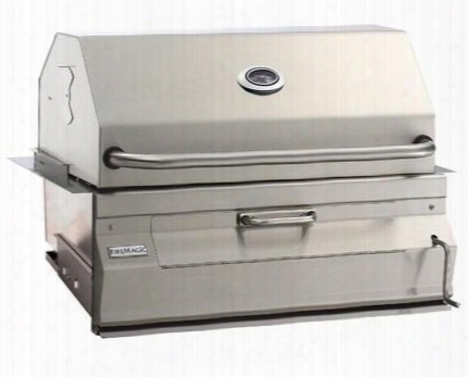 "14s101ca Charcoal 32"" Stainless Steel Grill With Stainless Steel Constructions And Standard Hood In Stainless"