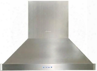 "Discovery Dhi421 42"" Island Mount Range Hood With A 600 Cfm Internal Blower Halogen Lighting And Variable Speed"
