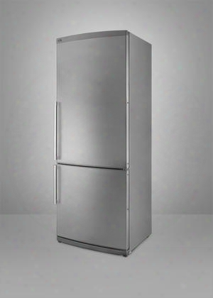 "Ffbf285ssim 28"" 13.8 Cu.ft. Capacity Bottom Freezer Refrigerator With Adjustable Thermostat Ultra Quiet Performance Interior Light Ice Maker Energy Star"